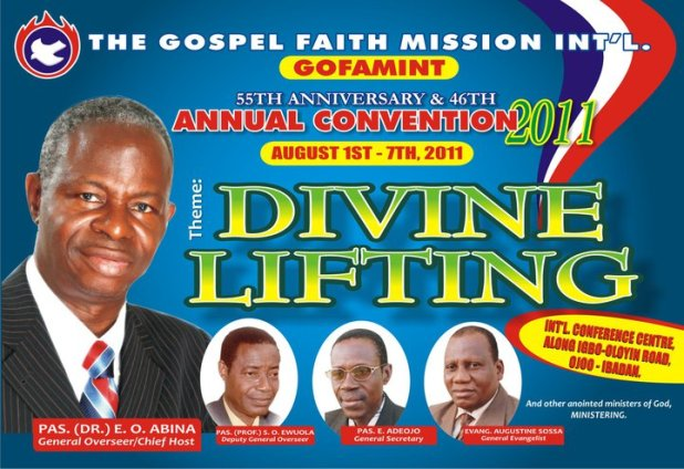 About GOFAMINT   The Gospel Faith Mission International (GOFAMINT)